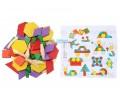 Ahşap Puzzle Tangram 60 Parça
