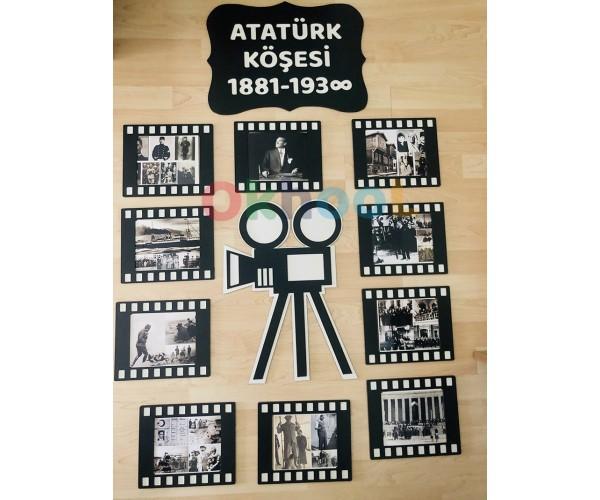Atatürk Köşesi Film Şeridi - Ahşap
