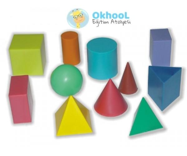 Geometrik Cisimler Seti - Plastik