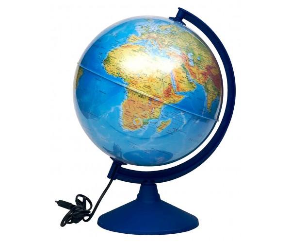 Gürbüz Işıklı Fiziki / Siyasi Yazılabilir Dünya Küresi 30cm