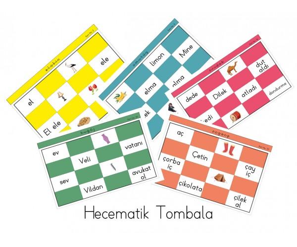 Hecematik 1.Sınıf Kelime Tombalası