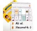 Hecematik 1. Sınıf Okuma Yazma Etkinlik Defteri