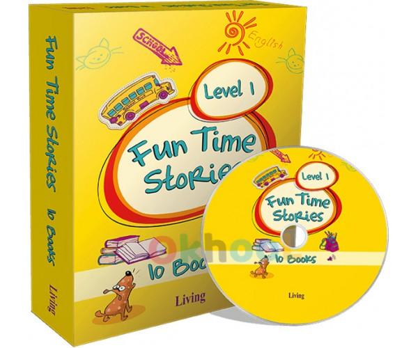 İngilizce Hikaye Kitapları Level 1- Living