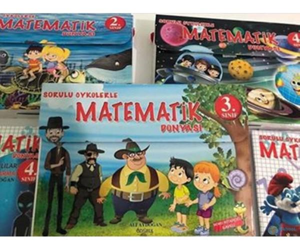 Öykülerle Matematik Dünyası - İlkokul 3. Sınıf