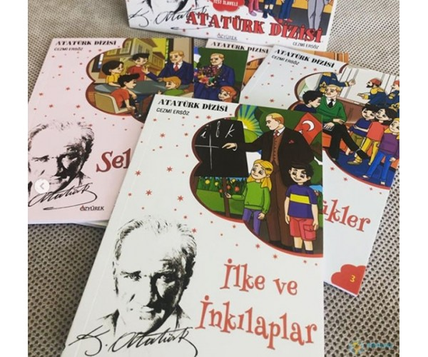 Atatürk Dizisi İlkokul Öykü Seti - Özyürek Yayınevi