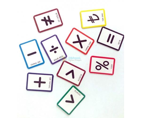 Magnet Matematik İşaretleri
