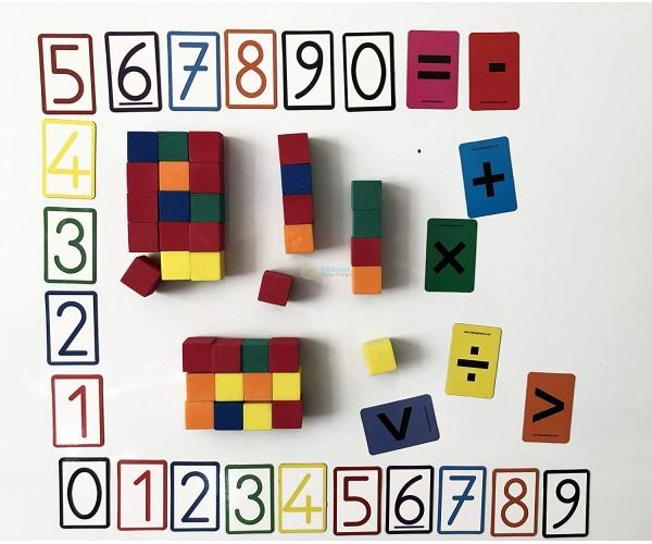 Mıknatıslı Matematik Etkinlik Seti
