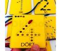 Montessori Rakamlar İp Geçirme Beceri Seti